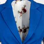 MAIDEN LANE- Blazer made by LA CASA- SPECIAL EDITION- royalblau